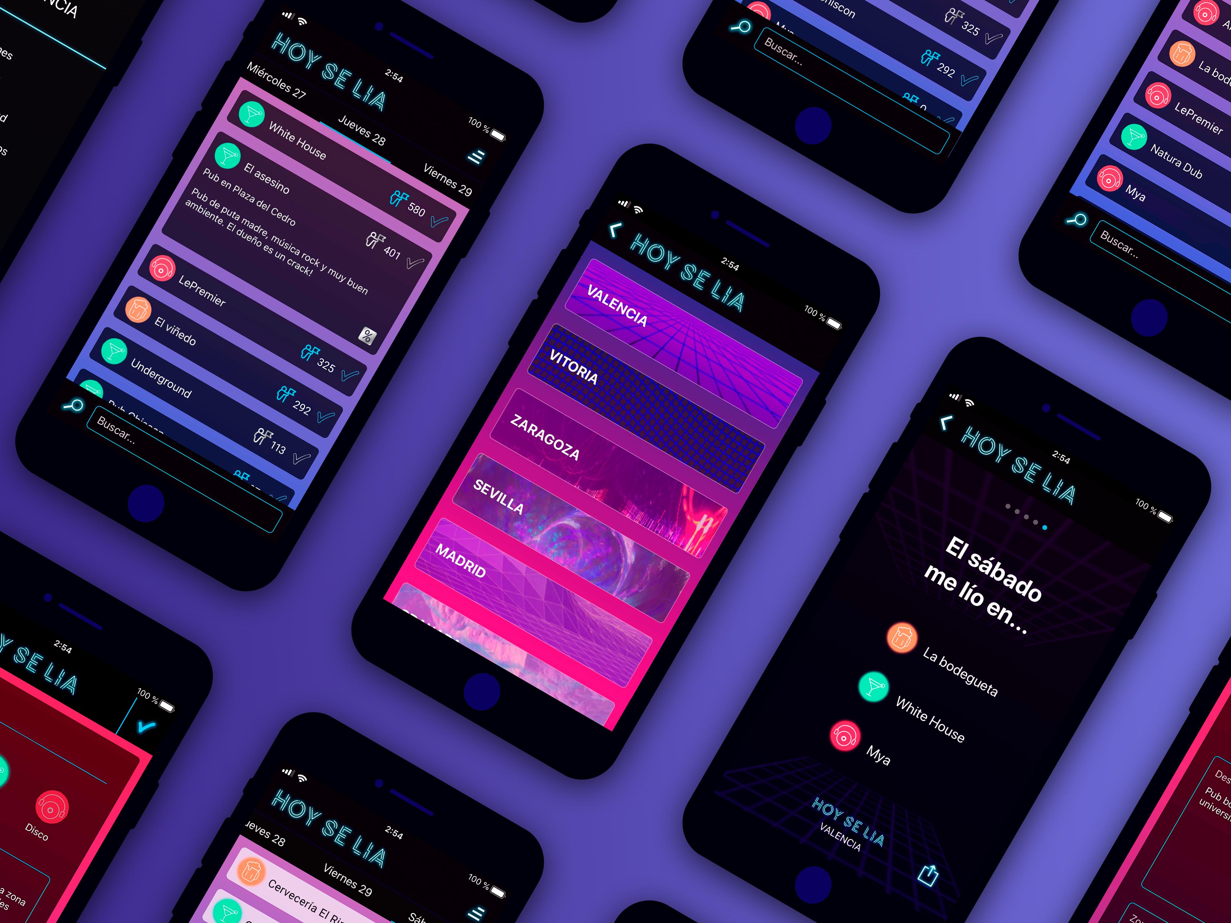 Hoy se lía – plataforma social para compartir planes de ocio nocturno