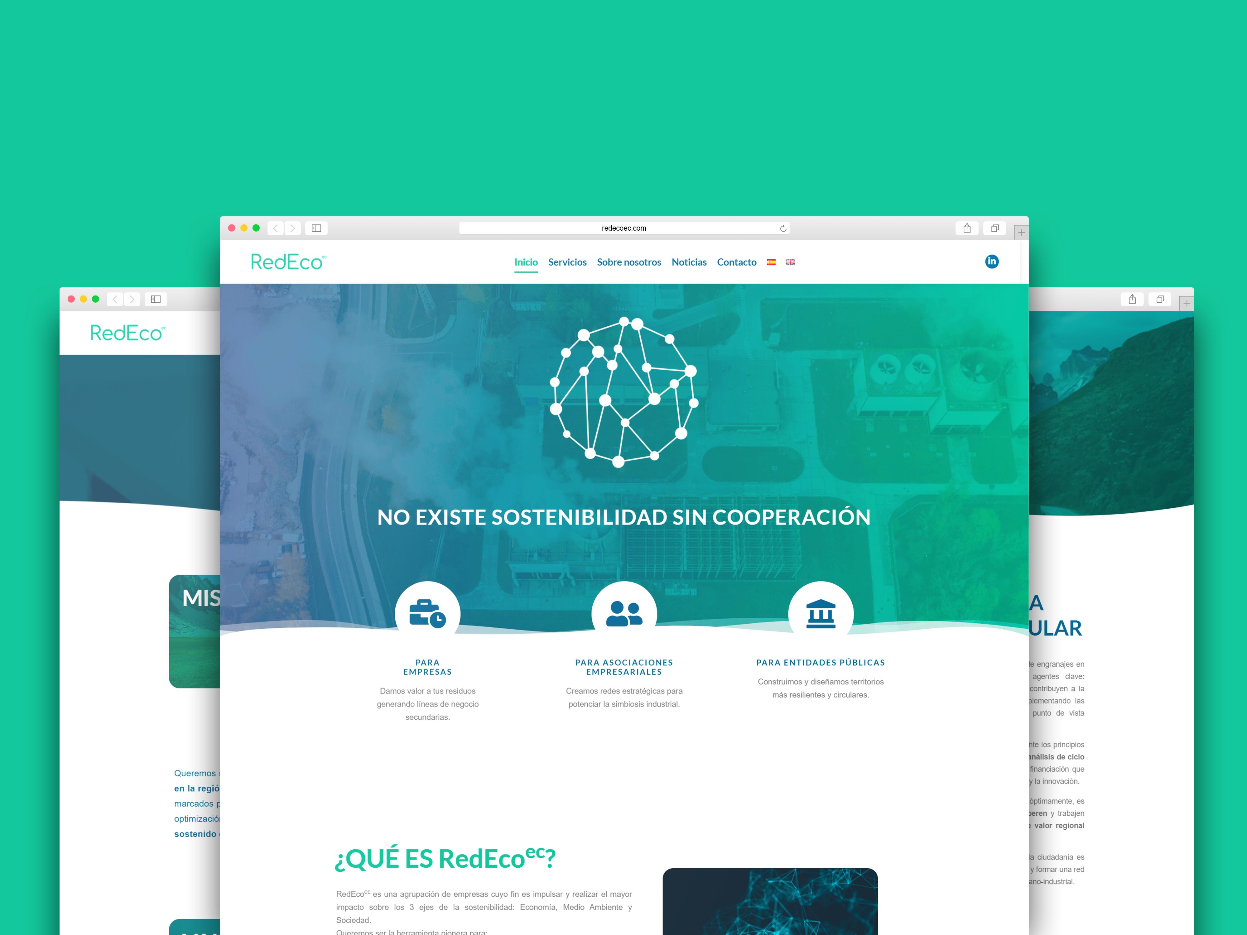 RedEco – web corporativa